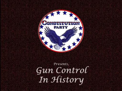 GunControlHistory